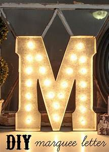 Diy, Marquee, Letter