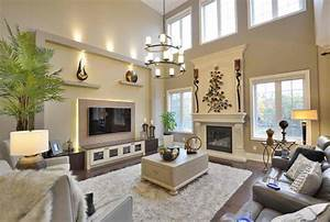 living room high ceiling decoration for living room with With large wall decorating ideas for living room
