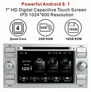 For Ford Transit Connect Galaxy Mk3 Fusion Dab Android Car