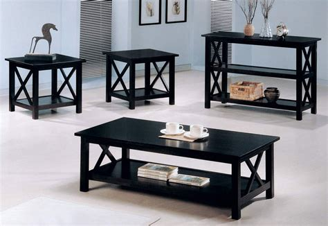 Sofa Table And End Table Set by Coaster Briarcliff 3 Occasional Set Cappuccino