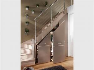 Dressing Lapeyre Espace : rangements et am nagements sous l 39 escalier 15 exemples malins ~ Melissatoandfro.com Idées de Décoration