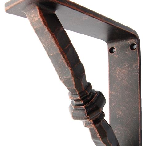Black Corbels by Crafted Iron Corbels Shelf Brackets By
