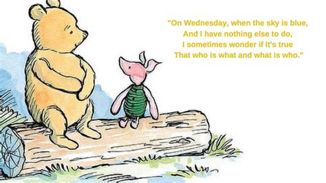 wednesday wisdom  winnie  pooh hartas craig