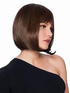 Hair Length Chart Classic Length Dark Brown Bob Wigs