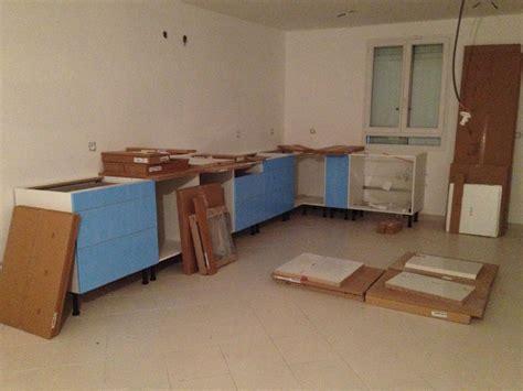 montage meuble cuisine ikea travaux intérieurs début du montage de la cuisine ma