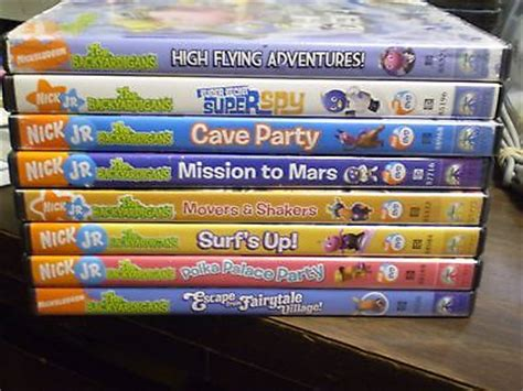 9 nick jr the backyardigans dvd lot mars cave surf s up more what s it worth
