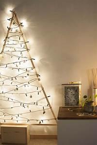 Weihnachtsbaum Mit Lichterkette : diy selbst gemachter tannenbaum mit lichterkette ~ A.2002-acura-tl-radio.info Haus und Dekorationen