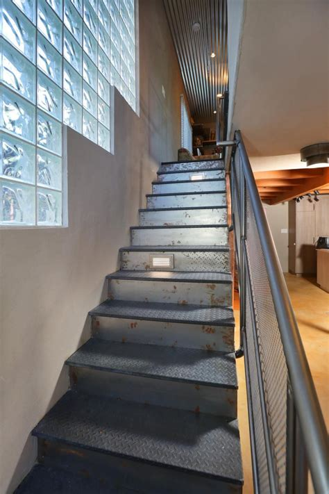 Foldable Stairs Industrial Designer by These Industrial Inspired Stairs Are One Of A With
