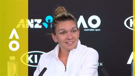 2017 us open simona halep press conference video