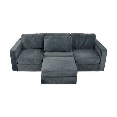 Lovesac Sectional by 77 Lovesac Lovesac Grey Center Chaise Sectional Sofas