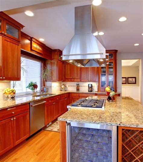 kitchen island with built in stove 25 spectacular kitchen islands with a stove pictures 9424