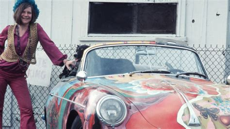 janis joplins porsche  brings  million  auction