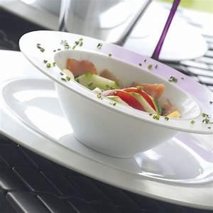 Bol A Salade : bol salade design et moderne en porcelaine blanche ~ Teatrodelosmanantiales.com Idées de Décoration