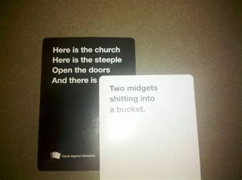 hilarious cards  humanity answers thechive