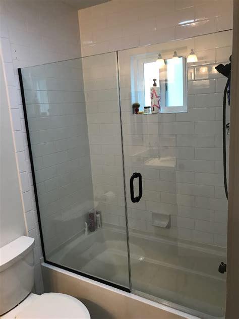 tub shower door patriot glass  mirror san diego ca
