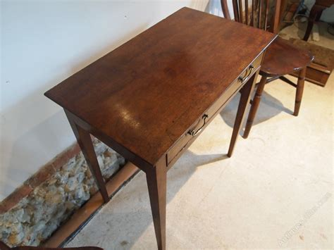 cloverleaf home interiors table l console george iii mahogany c1780