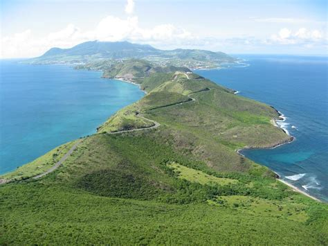 Photos From A Helicopter Tour Of St Kitts