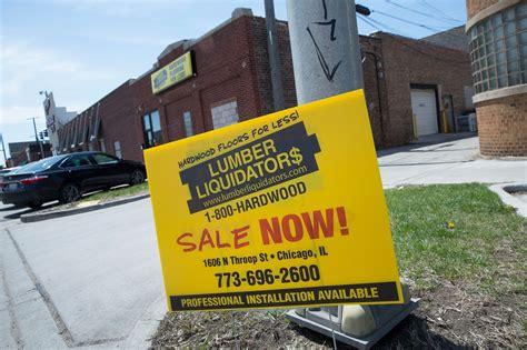 lumber liquidators stops selling laminate lumber liquidators stops sales of made flooring