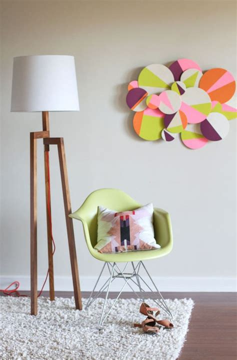 Looking for simple diy room decor ideas? 20 Easy and Creative DIY Wall Art Projects - Sad To Happy Project