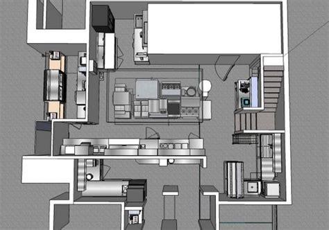 plan d une cuisine de restaurant cuisine conception à la carte hrimag hotels restaurants et institutions