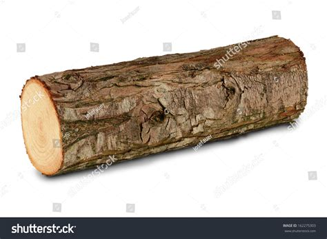 Wooden Log Firewood Stock Photo 162275303
