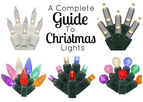 A Complete Guide To Christmas Lights