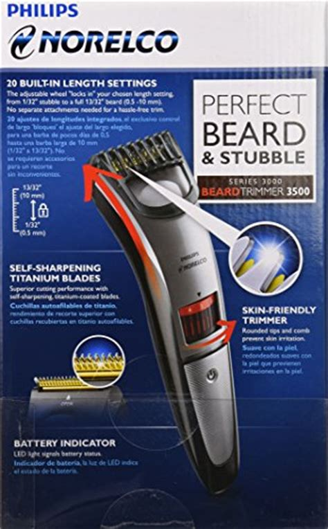 philips norelco qt beard stubble trimmer review