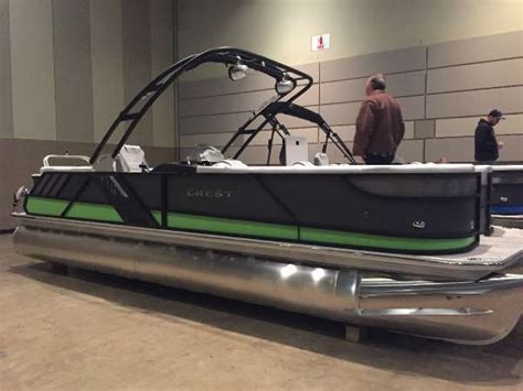 Pontoon Boats For Sale In Fox Lake Il by 2017 Crest Caliber 250 Slc Fox Lake Il For Sale 60020