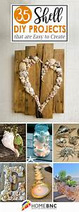 35, Best, Diy, Shell, Projects, Ideas, And, Designs, For, 2017