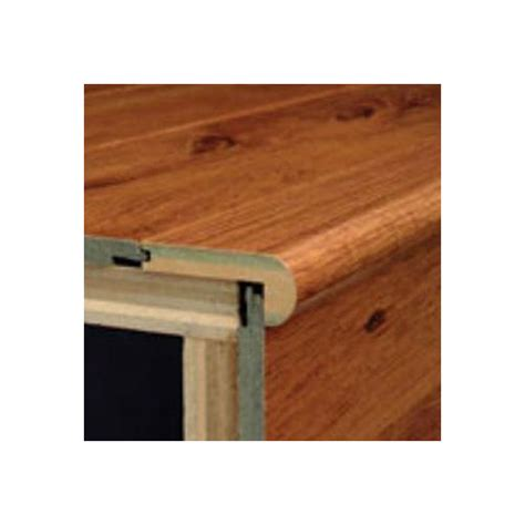 laminate flooring stair nose bruce flooring 94 quot walnut stair nose in exotic reviews wayfair