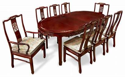 Dining Sets Rosewood Table Asian Bird Chairs
