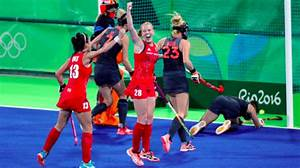 Gold for Team GB's hockey team in tense final | Meridian ...