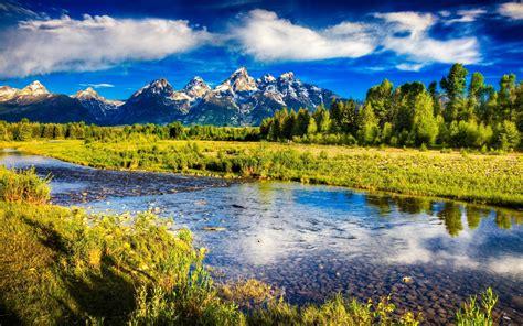 Grand Teton National Park Wyoming Rocky Mountains