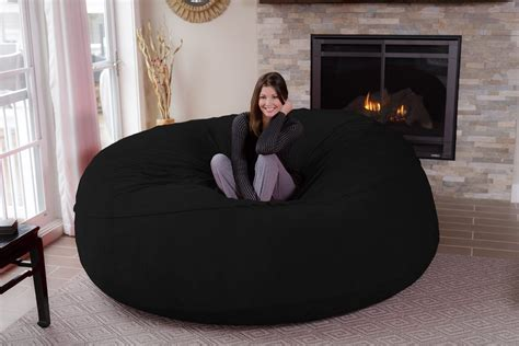 8 jumbo bean bag chair for comfortable seating home