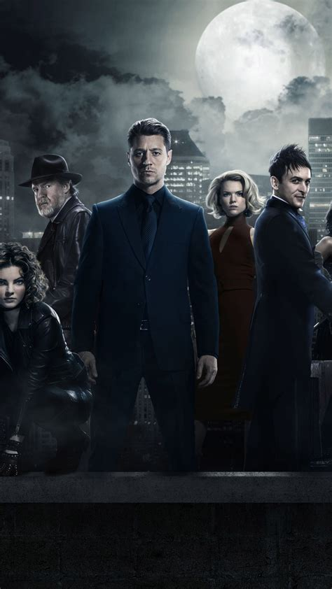 Wallpaper Gotham 3 season, Gotham, TV Series, crime ...