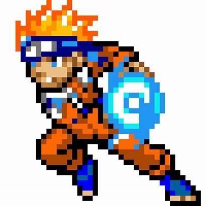 Pixel Naruto Minecraft Area Pixels Sasuke Anime