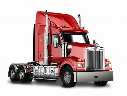 Kenworth Peterbilt Truck Semi Silhouette W900 T660