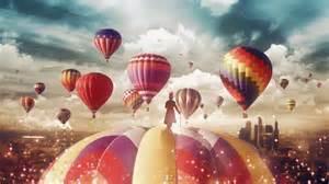 Hot, Air, Balloons, Magician, 4k, Wallpapers
