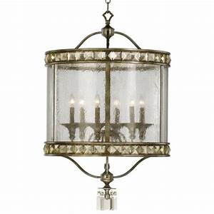 buckingham victorian champagne crystal 6 light entryway With kitchen cabinets lowes with crystal candle holders ebay