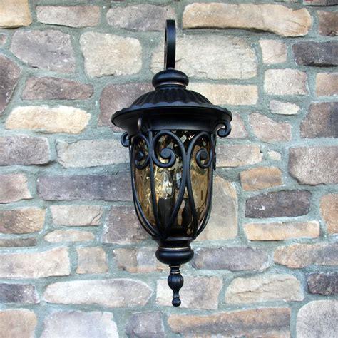 y decor hailee 1 light outdoor wall lantern reviews