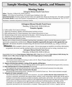 Minutes For Meeting Template 6 Agenda Minutes Templates Free Samples Examples