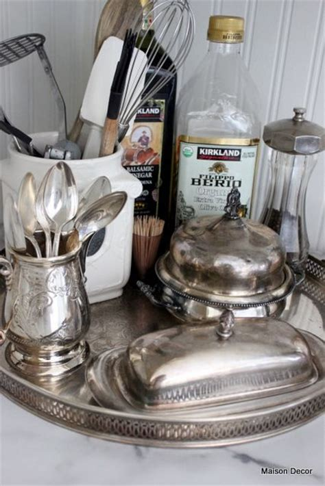 silver kitchen accessories 140 best silver pieces repurposed images on 2223