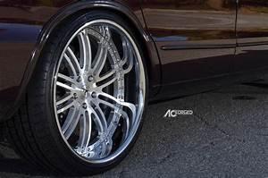 1996 Chevy Impala Ss On 22 U0026quot  Ac Forged Wheels Split 10