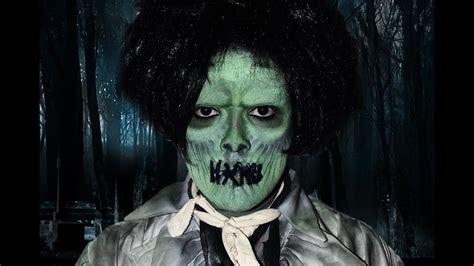 billy butcherson zombie hocus pocus makeup tutorial