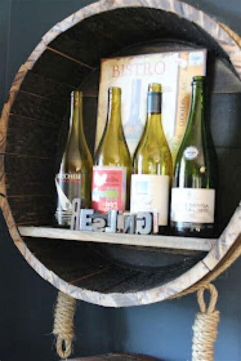 wine barrel shelf 17 best images about whiskey shelf on house