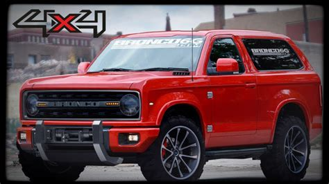 It's Official! New Ford Bronco 2018