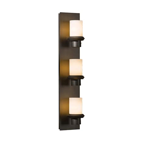 buy the staccato 3 light vertical wall sconce