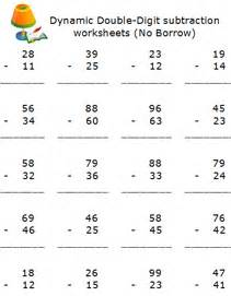 grade 2 subtraction free math worksheets printable 2nd grade