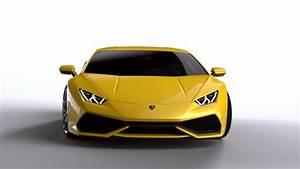 Yellow Car Lamborghini Huracan Full Wallpapers HD