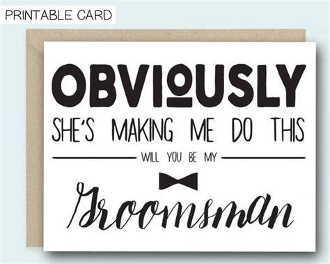 printable groomsman card  shes making